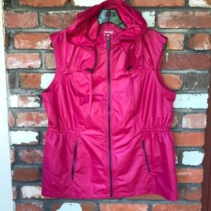 Zenergy by Chico's pink hooded vest
